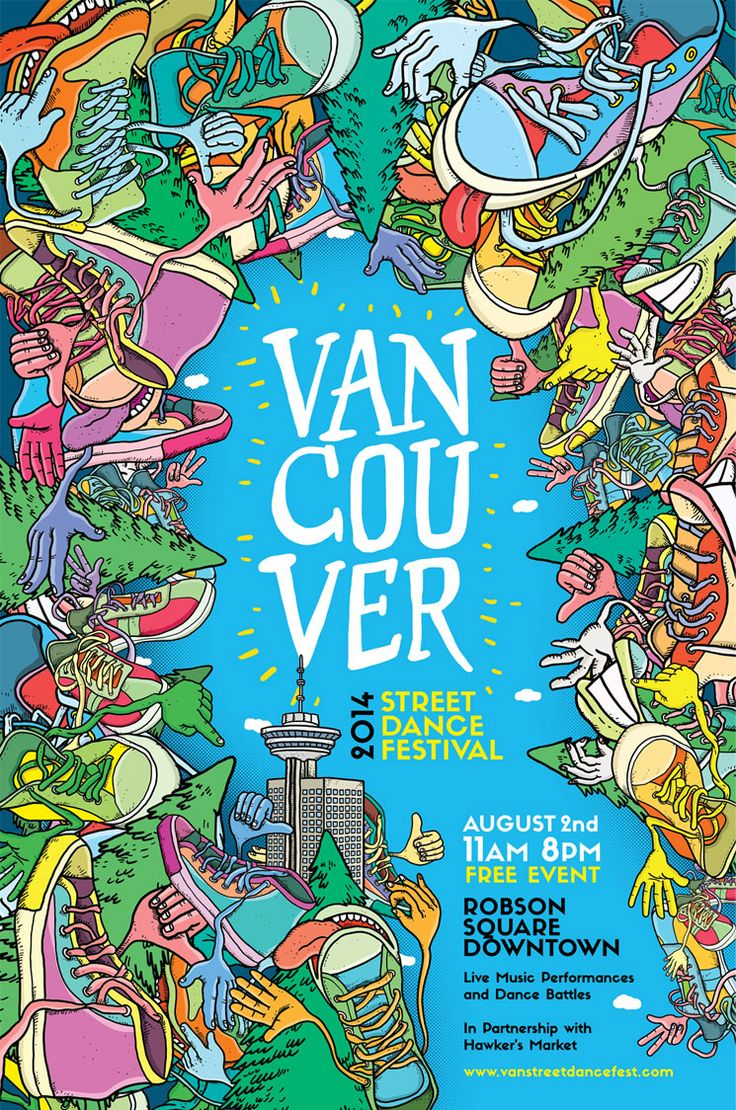 Poster design vancouver - Home Vancouver Street Dance Festival
