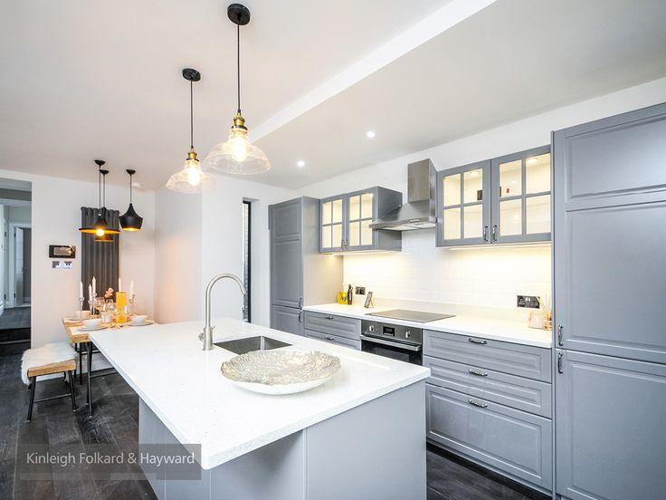 #grey #droplighting #kitchen #kfh