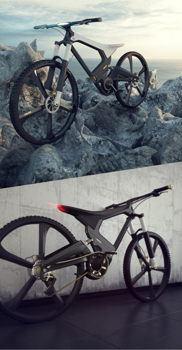 X Bike composed of carbon and aluminum