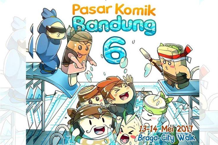 Ada Pasar Komik Bandung 2017 Akhir Pekan Ini!