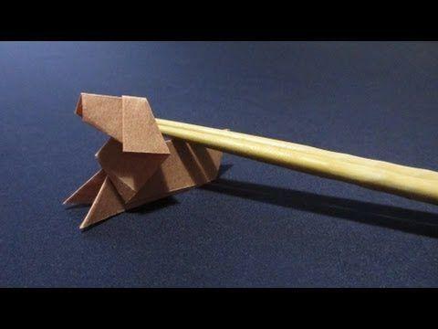 クリスマス 折り紙 折り紙 折り方 難しい 犬 : jp.pinterest.com