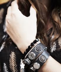 NOOSA double bracelet antique black
