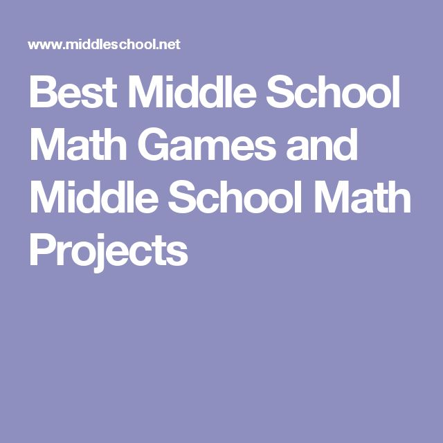 middle school math projects Home prof development  connecting to math in real  of 20 real-world math projects is adaptable for upper elementary- and middle-school students money math:.