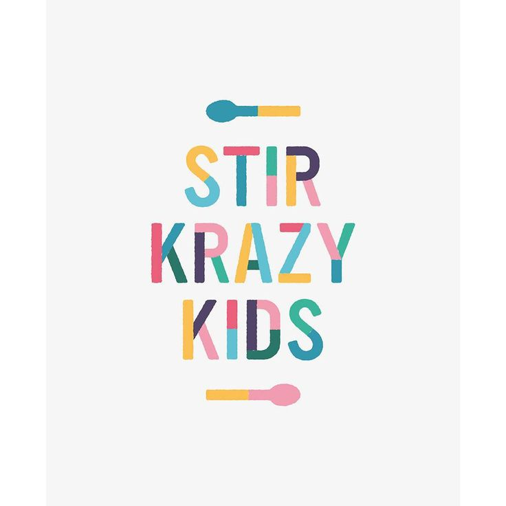 """We've just completed a rebrand for cookery club Stir Krazy Kids. More coming…"