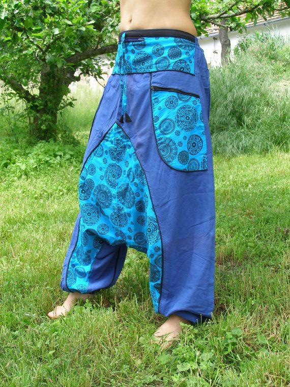 Largo Harem pantalones  pantalones de Aladdin  Afghani
