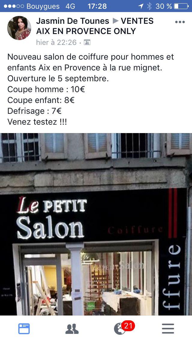 Epingle Par Maelle Combal Sur A Decouvrir A Aix En Provence Aix En Provence Salon De Coiffure Nouveau Salon
