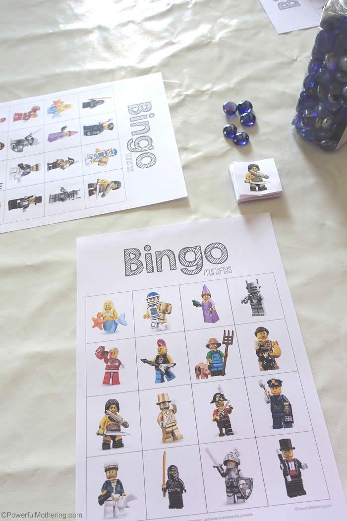 Awesome LEGO Bingo Game for Kids! Free Printable