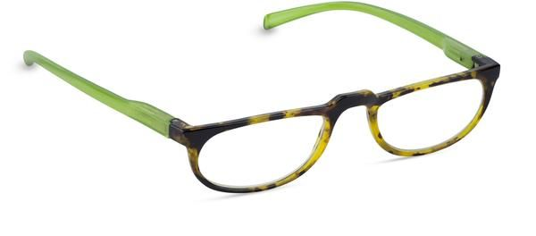 $12 on sale This item is a final sale. It can be returned for an exchange, however, we cannot offer a monetary refund. Table for Two is a great look, whether you're out on the town or staying in with a good book. These beautiful tortoise reading glasses are a classic half frame with thin temples and boast spring-hinges for added comfort. These readers are paired with a coordinating case for fashionable protection. Exclusively by Peepers.
