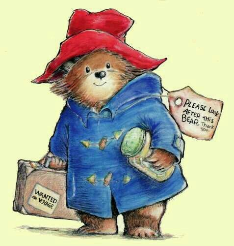 13 best paddington bear images on pinterest paddington bear bear art and drawings. Black Bedroom Furniture Sets. Home Design Ideas