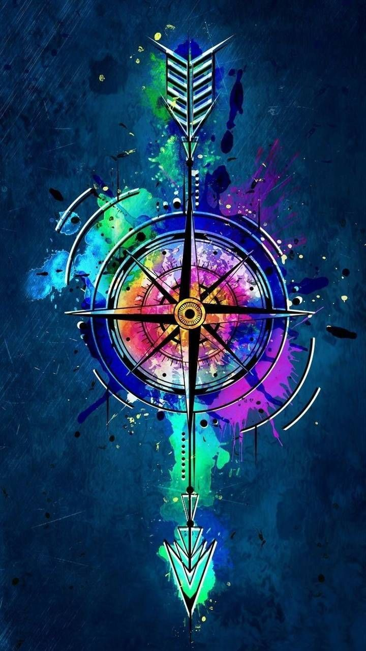 Download Compass Arrow Bow Wallpaper By Peacecloud9 E3 Free On Zedge Now Browse Millions Graffiti Wallpaper Iphone Artistic Wallpaper Graffiti Wallpaper