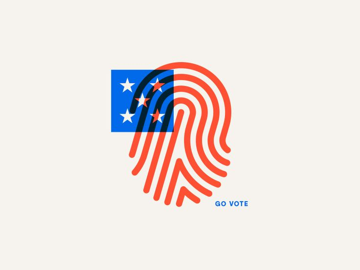 Go Vote by Jay Fletcher #Design Popular #Dribbble #shots