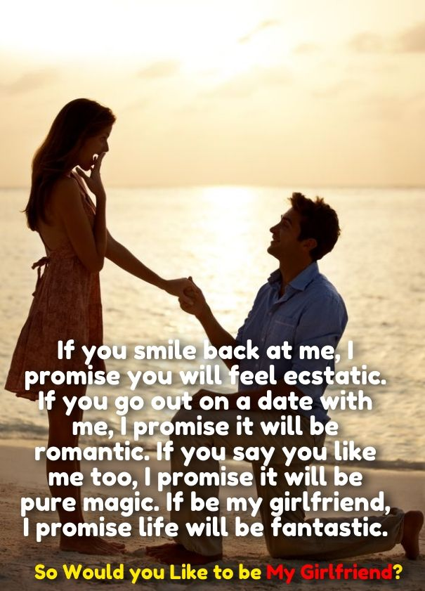 How To Ask A Girl To Be Your Girlfriend Cute Love Quotes
