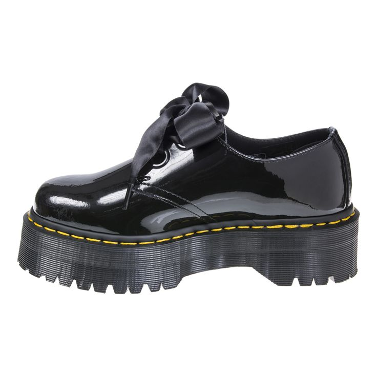 Dr Martens Holly Lolita Patent Shoes (Black)