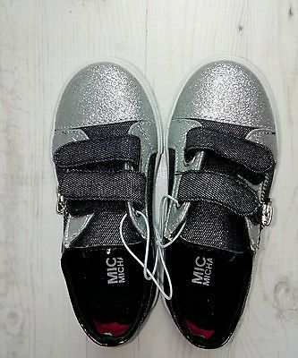 Michael Kors sneakers, детская обувь, 25, 28.5, 30, Grey, Grigie, Silver
