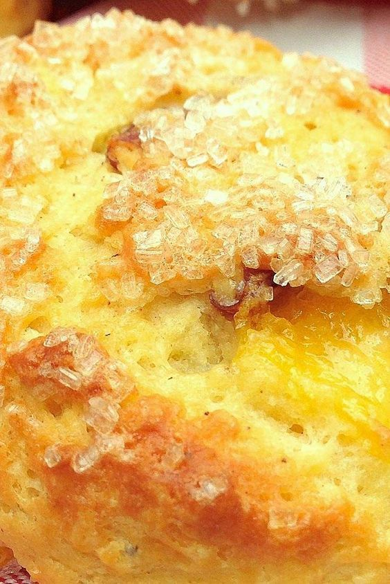 Tender Peach Scones Recipe
