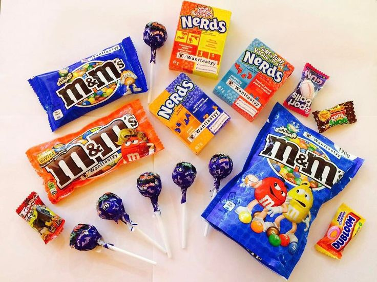 конфеты Nerds 249 M&M's  Crispy мал 89 M&M's арахисовое масло мал 159 M&M's Crispy бол 399 чупа чупс красит язык в синий 30 жвачка поштучно 15 #wanttasty