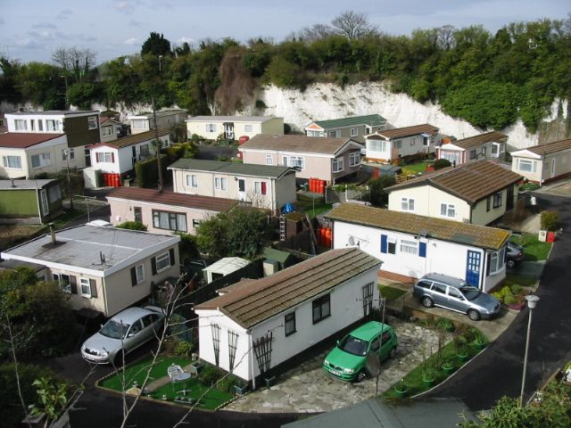 UK Mobile Home Park