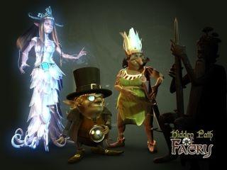 Hidden path of faery / Casual game (Hidden object)