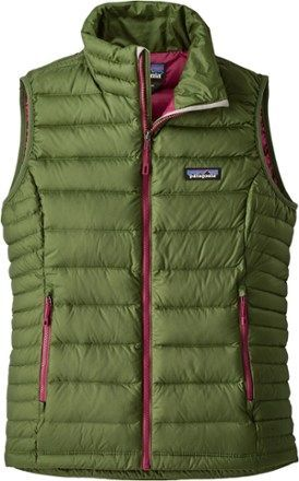 Patagonia Women's Down Sweater Vest Buffalo Green XS