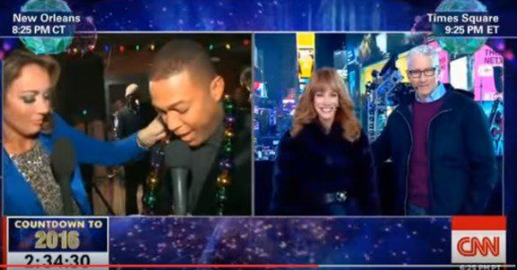 Drunk Don Lemon Tells Kathy Griffin She Has a 'Nice Rack' on Live TV (VIDEO)  Jim Hoft Jan 1st, 2016