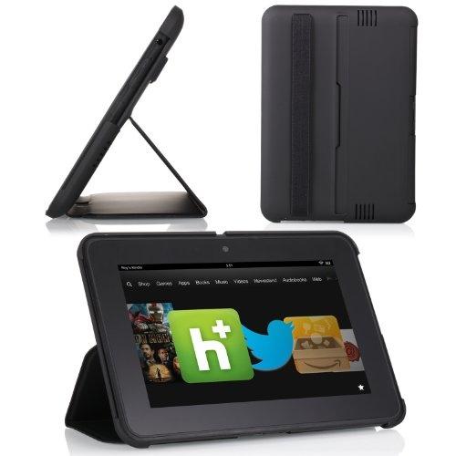 "#good MoKo(TM) Ultra-Lightweight SlimShell Standing Case for Amazon Kindle Fire HD 7"" inch Tablet, BLACK--Lifetime WarrantyS   - http://wp.me/p291tj-dL"