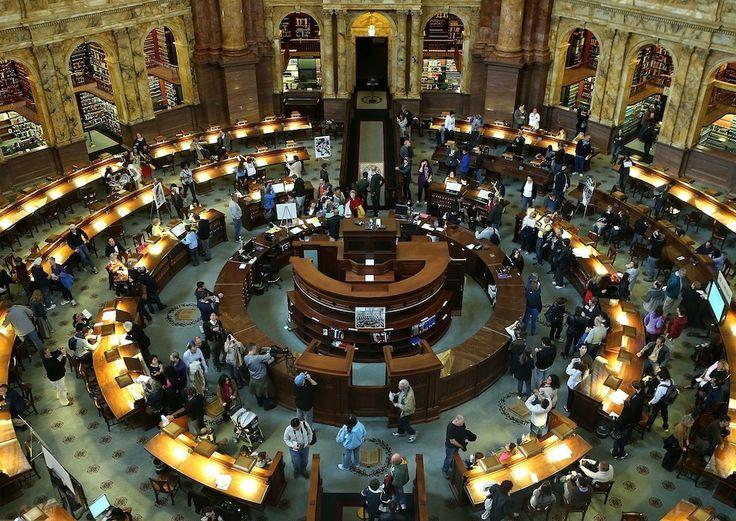 IlPost - Library Of Congress, USA - Library Of Congress (Biblioteca del Congresso), Washington DC, USA (Alex Wong/Getty Images)