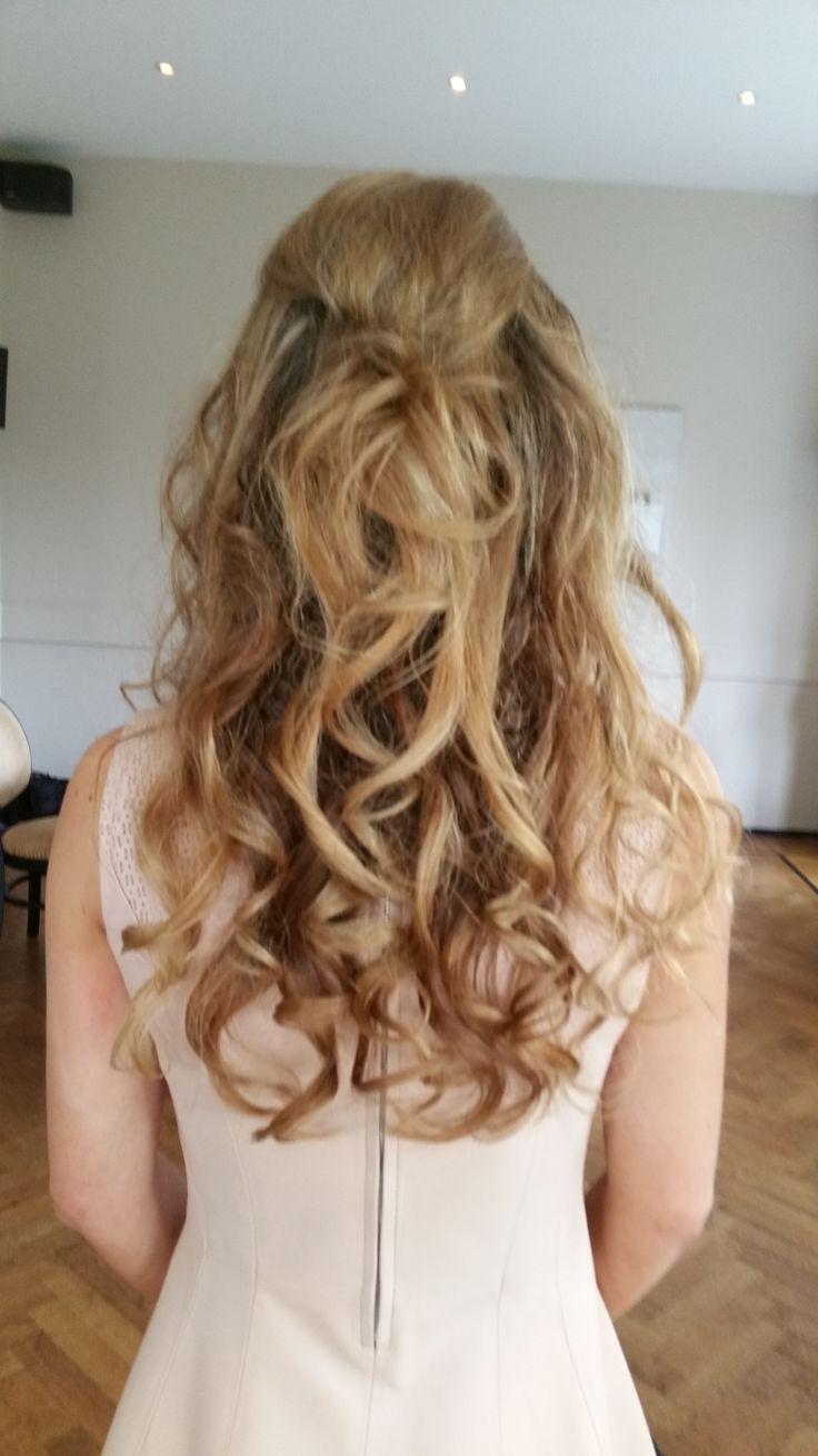 Mooie losse krullen Ibizastyle bohostyle Kasteel de Hooge Vuursche  http://www.hairclusief.nl