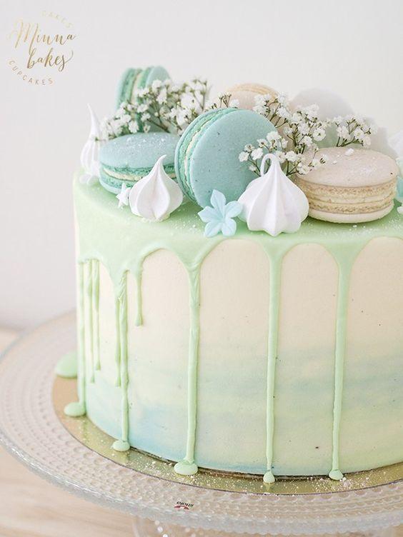 10 verträumte Kuchen  – Kuchen   – Happy Cakes