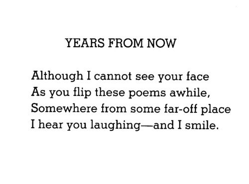Image result for years from now by shel silverstein