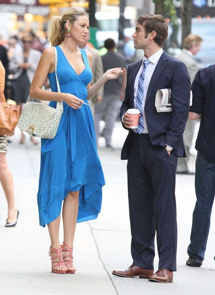 chace crawford with blake lively  5 u0026 39 10 u0026 39  u0026 39