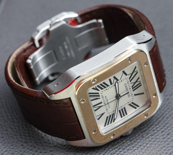 Cartier Santos 100 Watch Review Wrist Time Reviews
