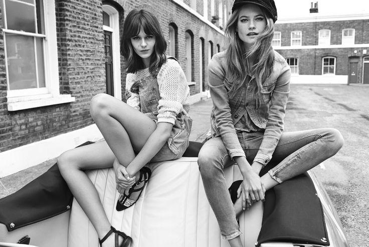 #fashion #girls #vintage #retro #monochrome