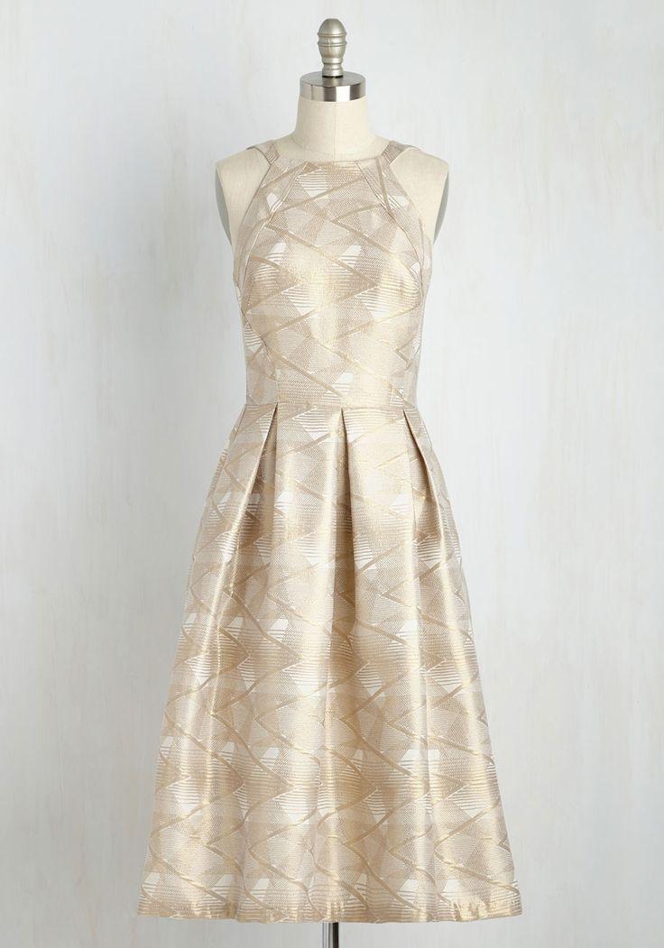 Gild With Joy Dress