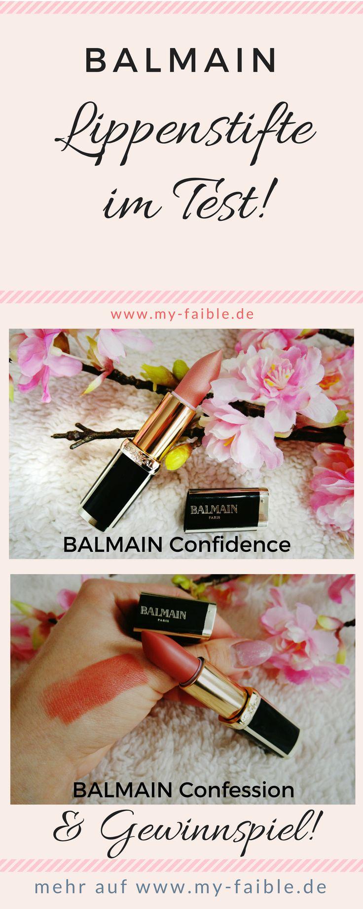 Balmain Lippenstift, Lippenstifte Swatch, Tragebild, #balmain  #balmainxloreal #lippenstift #lipstick #lippenstifte #lipsticks #beauty #beautyblog #beautyblogger #gewinnspiel #verlosung #review #erfahrungen #beautyblogger