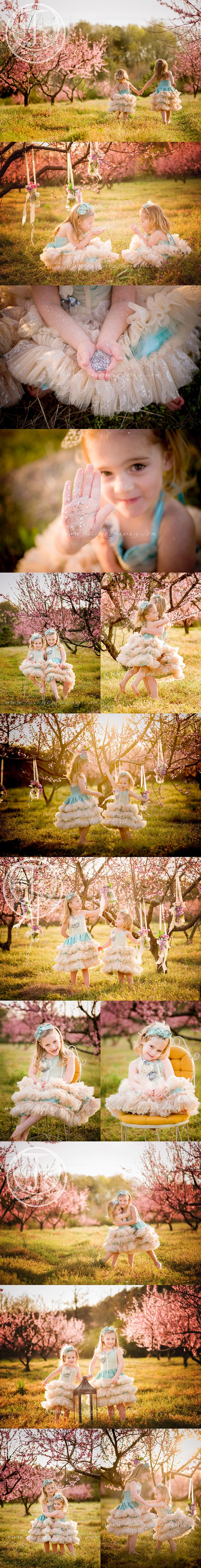 Two sisters - Watkinsville photographer - Fairyography