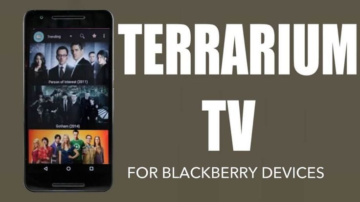 Terrarium TV on Blackberry Device. terrarium tv is now available for Blackberry devices. Download and watch 1080P HD movies and tv series online for free.