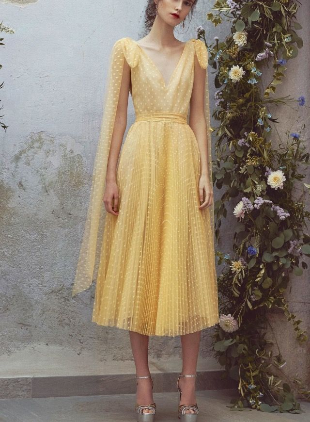 Love this summery Luisa beccaria dress
