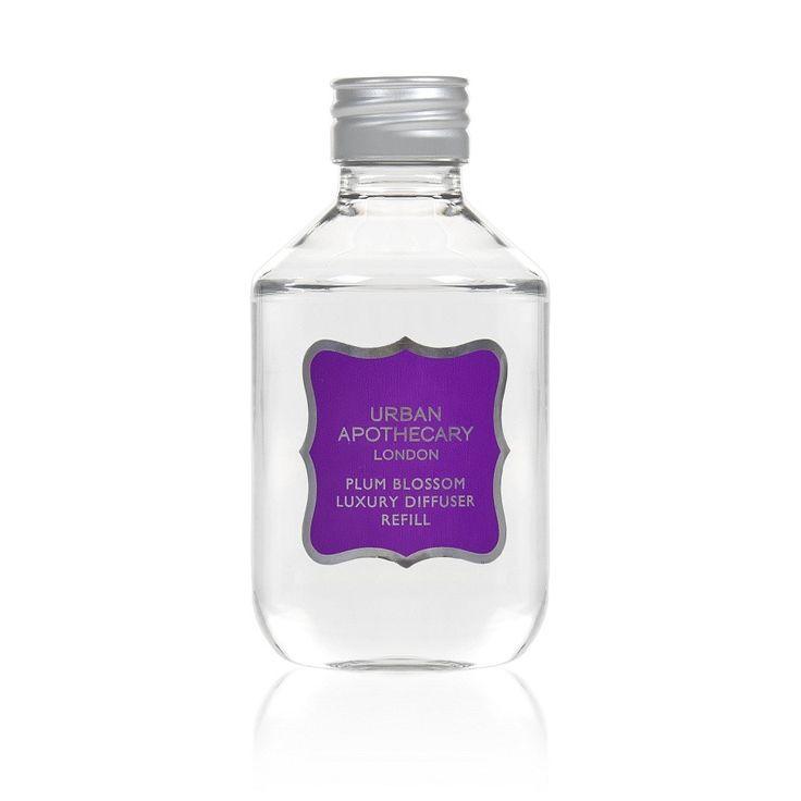 Urban Apothecary Plum Blossom Luxury Fragrance Diffuser Refill