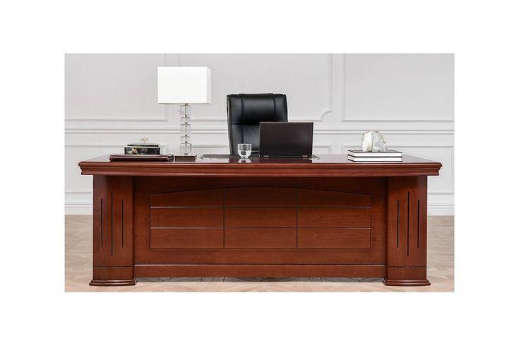 Scrivania presidenziale in stile classico per ufficio o