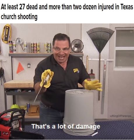 Phil Swift on the Texas Shooting