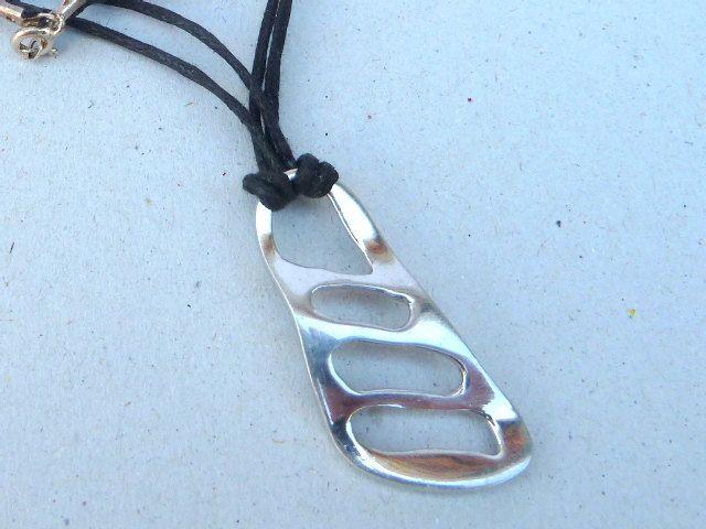 Handmade silver pendant,men   pendant,unisex pendant by accessoriesformen on Etsy