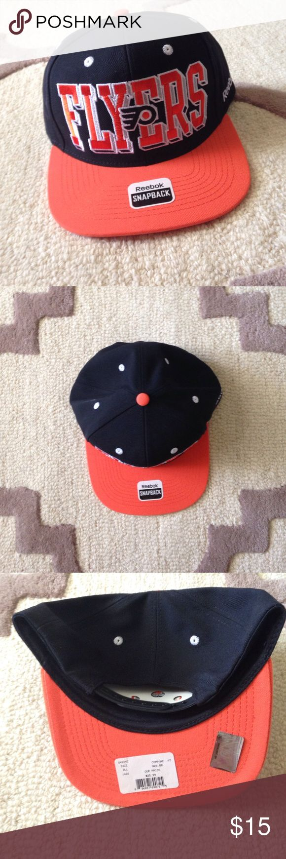 Selling this Flyers Snap Back by Reebok - NHL Shop on Poshmark! My username is: cruss10. #shopmycloset #poshmark #fashion #shopping #style #forsale #Reebok #Other