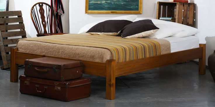 Platform Bed - Warren Evans was the 1st British bedmaker to be FSC certified