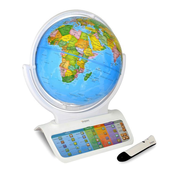 Mappamondo interattivo e parlante  http://store.oregonscientific.com/it/giocattoli-educativi/mappamondi-interattivi-parlanti.html