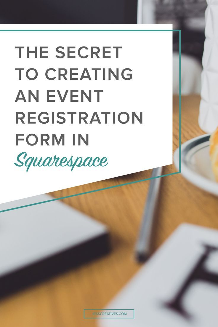 I've seen several people online (specifically photographers) asking about the best way to do event sign-ups on their Squarespace website. Squarespace does have an Event Block, but it doesn't currently have an option for sign-ups. Lucky for you, I know an