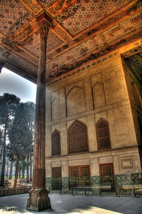 Chehel Sotton Palace, Isfahan, Iran  | via Tumblr
