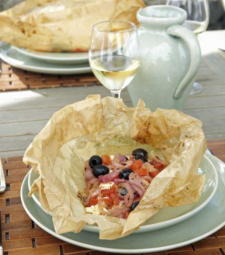 Echt zoals in Albanië! Groenten in de oven met feta Mijn Pure Keuken - Pascale Naessens