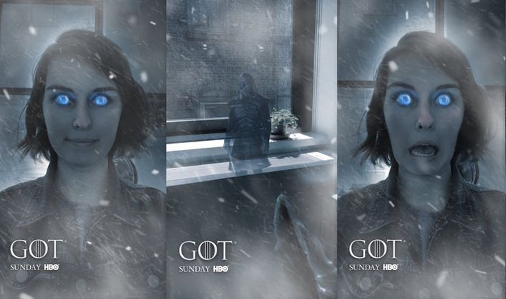 Augmented Reality serie Game of Thrones