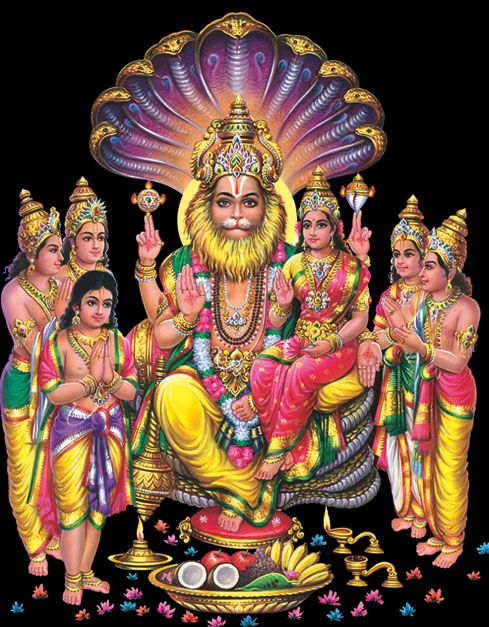 Image result for Narasimha Jayanthi Celebration