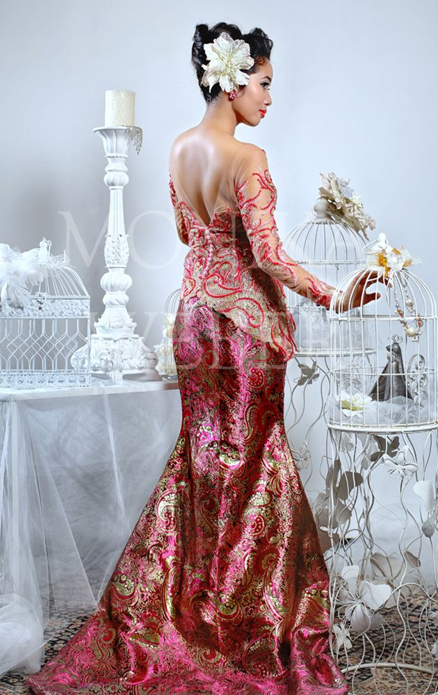 Bloom Fairy Pink Kebaya